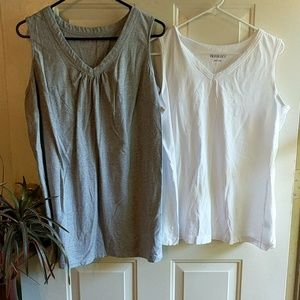 woman within Tops - 2 New tank tops